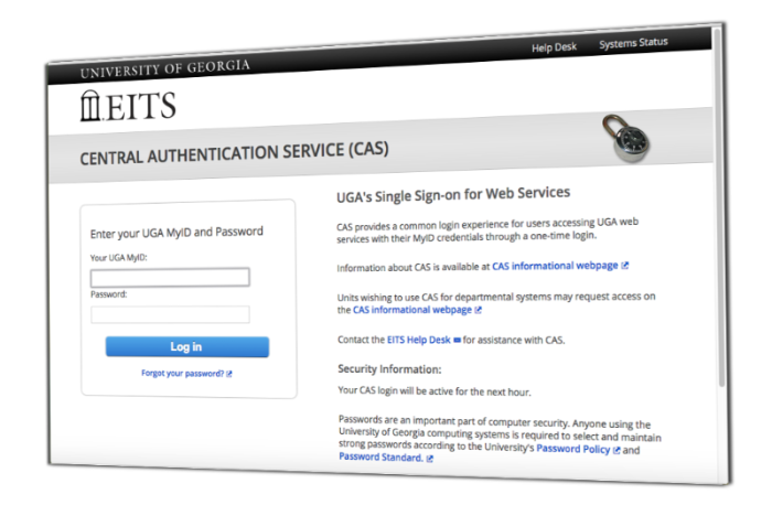 Superior Central Authentication Service Screen Design Inspirations